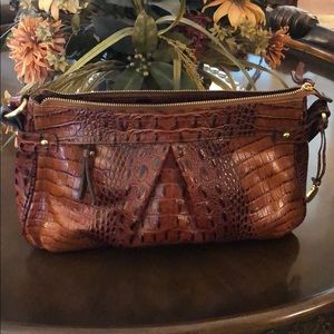 NWOT Brown & Black Brahmin Purse